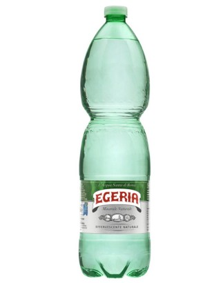 Acqua Egeria Effervescente Naturale Pet 1,5 Lt x 6 Bt