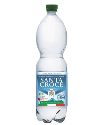 Acqua Santa Croce Leggermente Frizzante Pet 1,5 Lt x 6 Bt