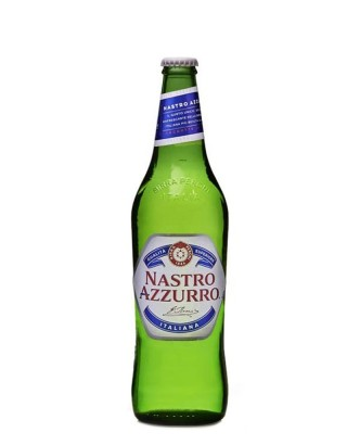 Birra Nastro Azzurro Vetro 0,66 Cl x 15 Bt
