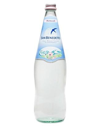 Acqua San Benedetto Naturale in Vetro a Rendere 1 Lt x 12 Bt