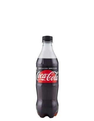 Coca Cola Zero Pet 0,45 Lt x 24 Bt